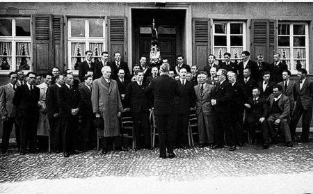 Historische Aufnahme des Männergesangvereins